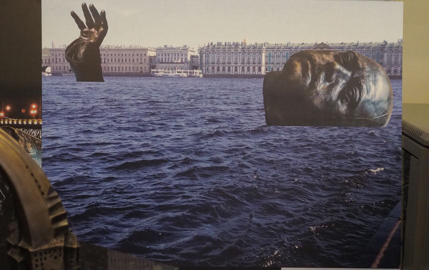 Утопить Петра Первого: необычные скульптуры представили в Петербурге