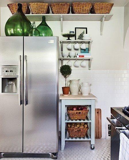 3 простых гениальных решения для очень маленькой кухни фото 8