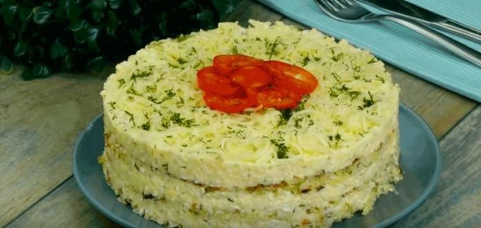 Вкусно и бюджетно — капустный тортик с сыром