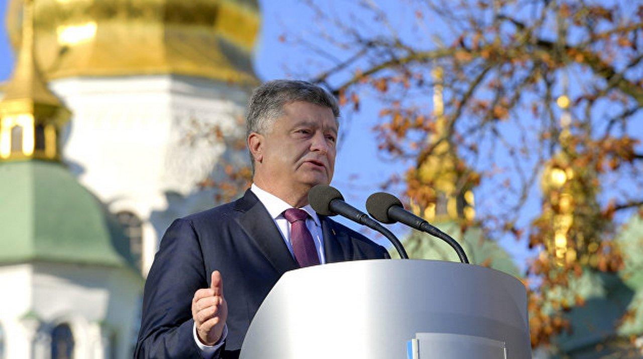 Украинцы под властью фараона-фанфарона Порошенко