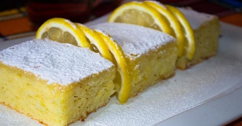 Восхитительный лимонно-яблочный пирог