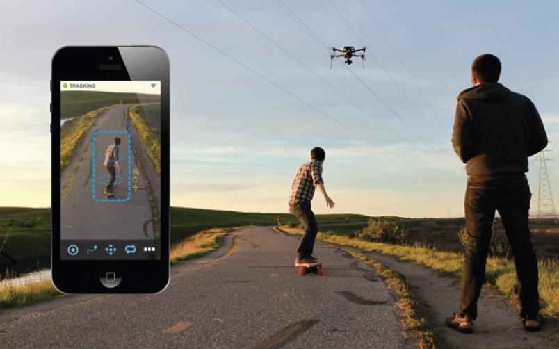 Cистема «Shift» автоматического слежения для пилотов дронов