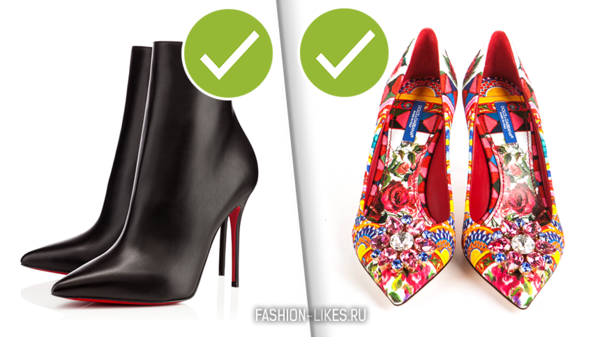 Эти 4 пары обуви носят только те женщины, у которых денег куры не клюют