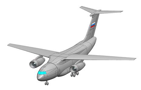 Программа создания среднего военно-транспортного самолета Ил-276