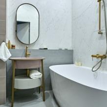 Как оформить ванную комнату в светлых тонах?-4