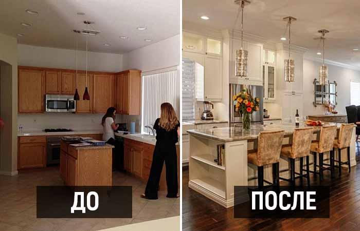 4 идеи, как мрачные кухни переделать в уголок комфорта, откуда просто не захочется уходить