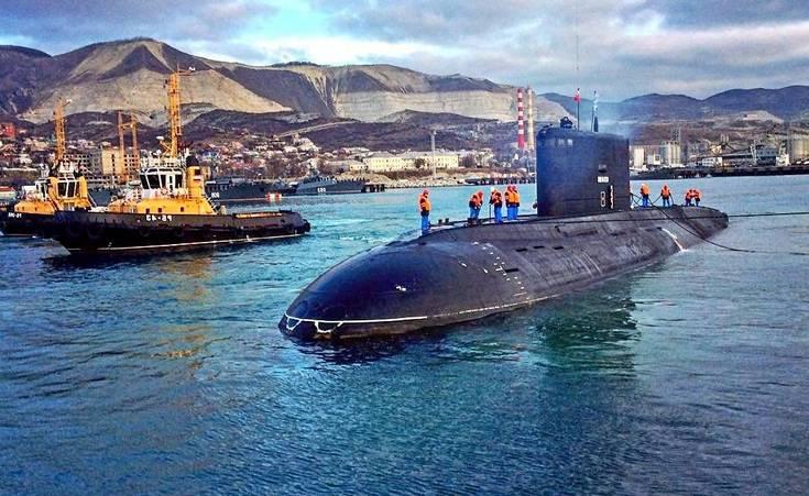 Американцы потеряли российскую субмарину в Черном море