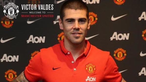 «Манчестер Юнайтед» объявил о подписании контракта с Виктором Вальдесом