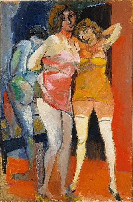 художник Ренато Гуттузо (Renato Guttuso) картины – 16