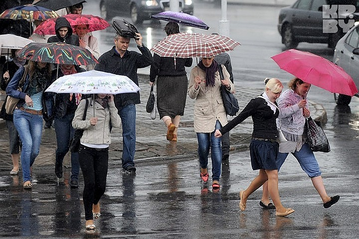В Москве и Подмосковье 11 июля 2018 года объявлен «жёлтый» уровень погодной опасности