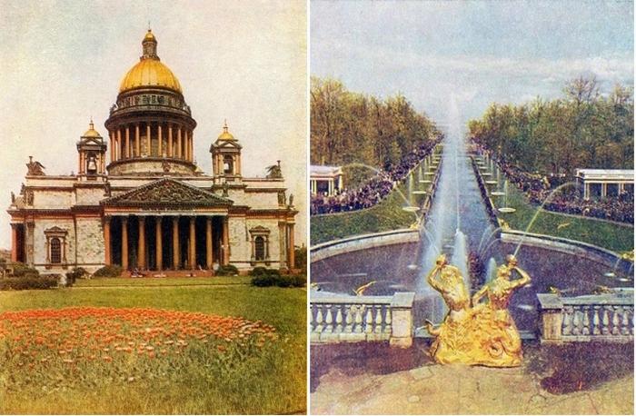 15 ретро снимков самых живописных мест Санкт Петербурга - культурной столицы России