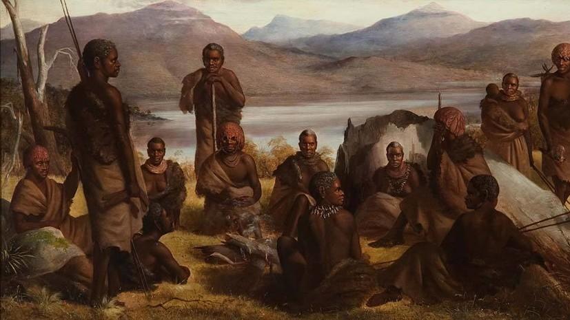 Как британские колонизаторы уничтожили коренное население Тасмании