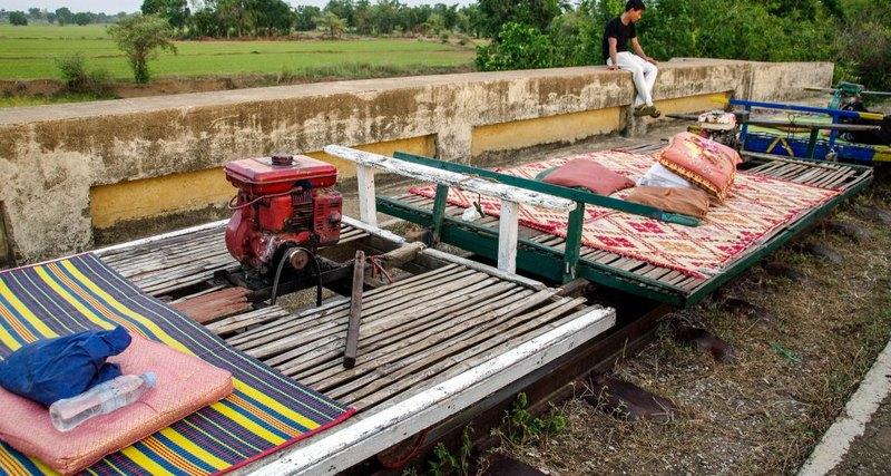 Норри, или камбоджийские бамбуковые поезда