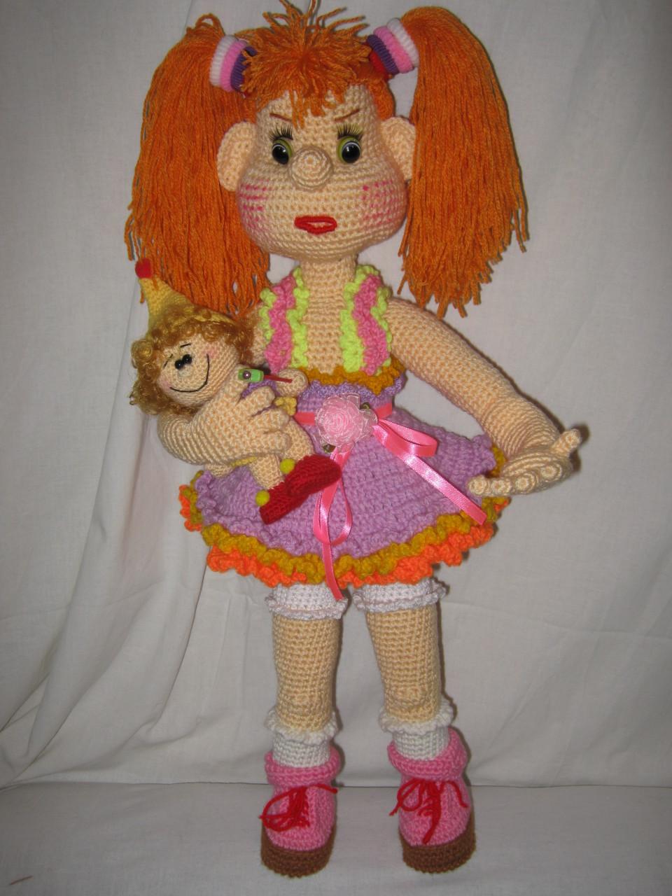 Кукла вязанная своими руками фото