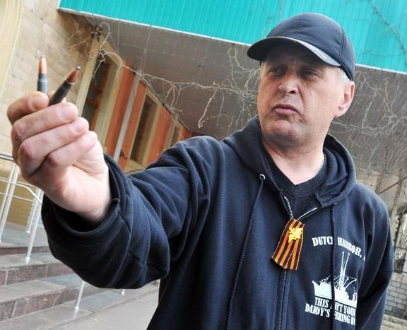 «Народный мэр» Славянска Вячеслав Пономарев