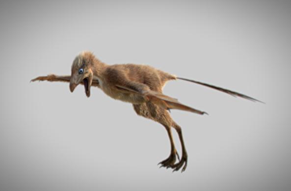 Палеонтологи нашли динозавра с крыльями летучей мыши