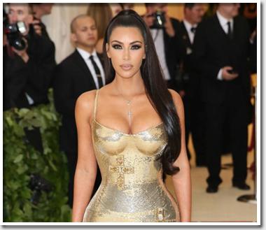 Чем занимается Ким Кардашьян…