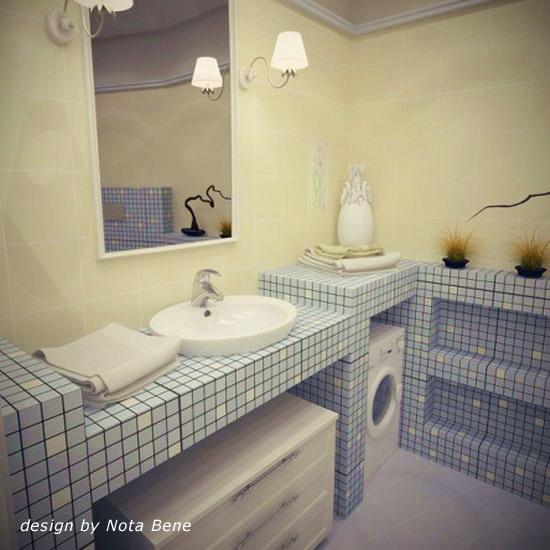 Ванна комната из гипсокартона своими руками