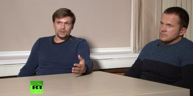 Боширов и Петров рассказали, почему решили дать интервью СМИ