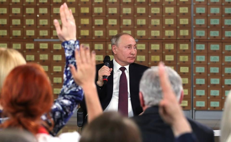 О силе личности Президента Путина.