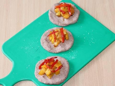 Фасолевые зразы с тыквой и вареным яйцом recipe step 9 photo