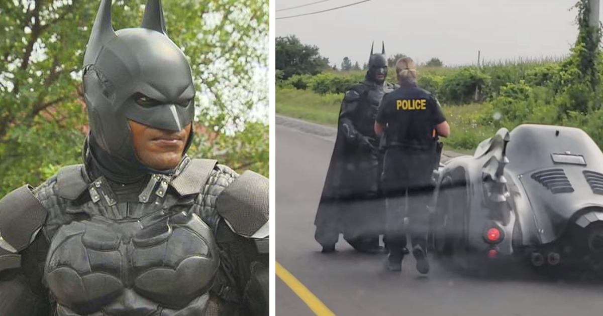 Batman Got Pulled Over By The Cops And No, He Didn't Break The Law