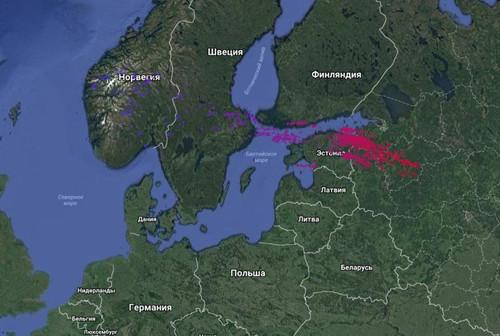На Россию обрушилась странная гроза