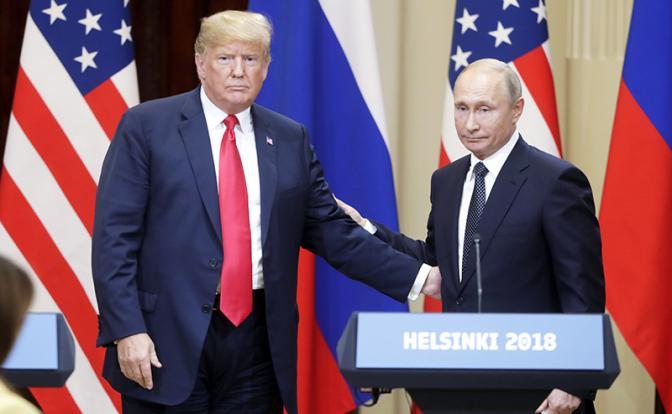 Американцы не простят Трампу разговора с Путиным на равных