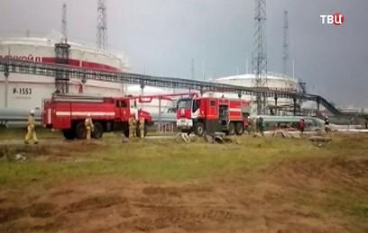 После пожара на НПЗ в Нижегородской области возбудили дело