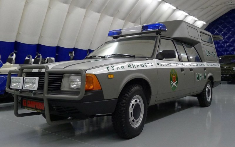 Единственный экземпляр 7-дверного Москвич-2901 восстановили для ГУИН Минюста России