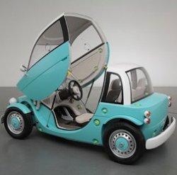 Toyota Camatte - автомобиль, которым могут управлять и дети