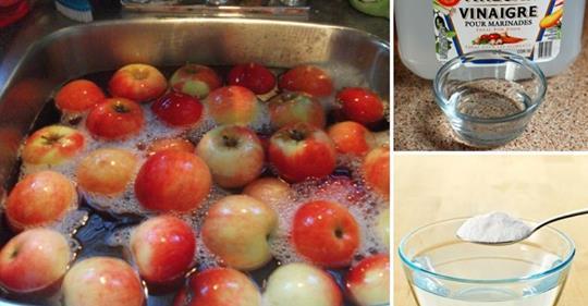 Как использовать пищевую соду для очищения 96% всех токсичных пестицидов на ваших фруктах и овощах