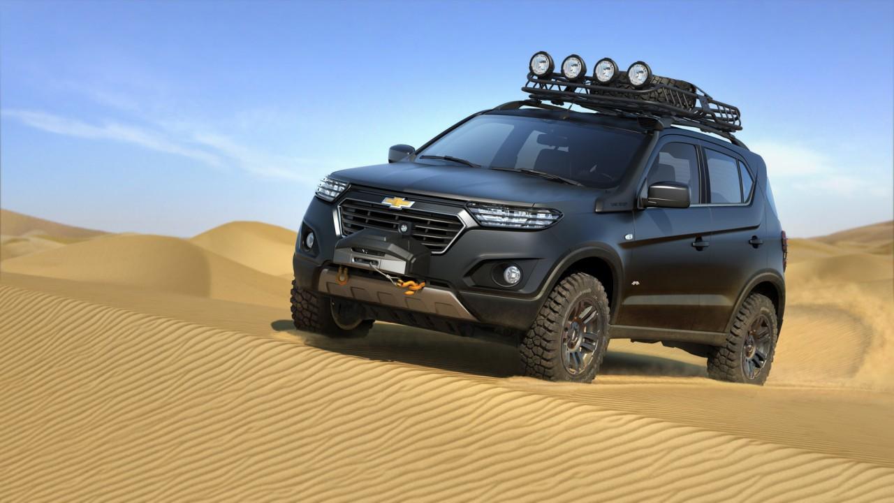 Новая Chevrolet Niva: первое видео
