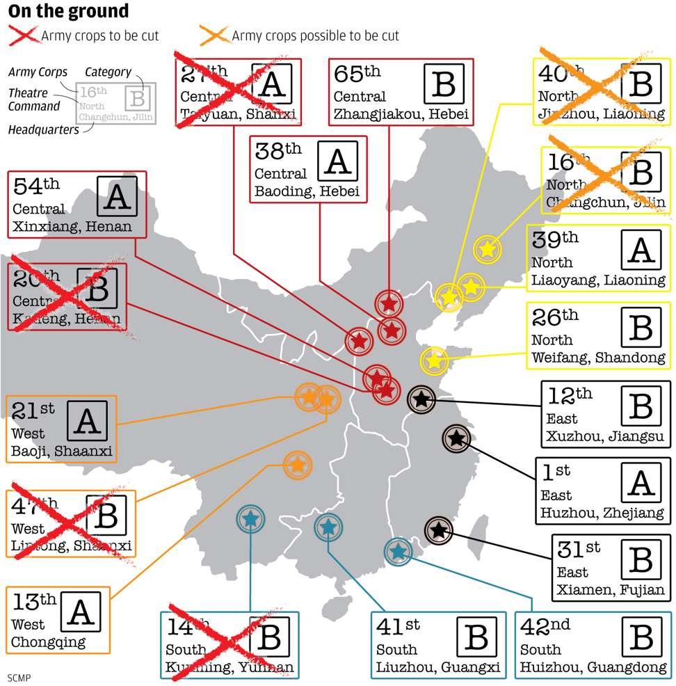 Китай сократил 2 группы армий у границ России!