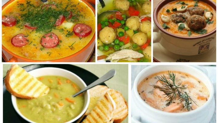 10 рецептов вкусных и сытных супов