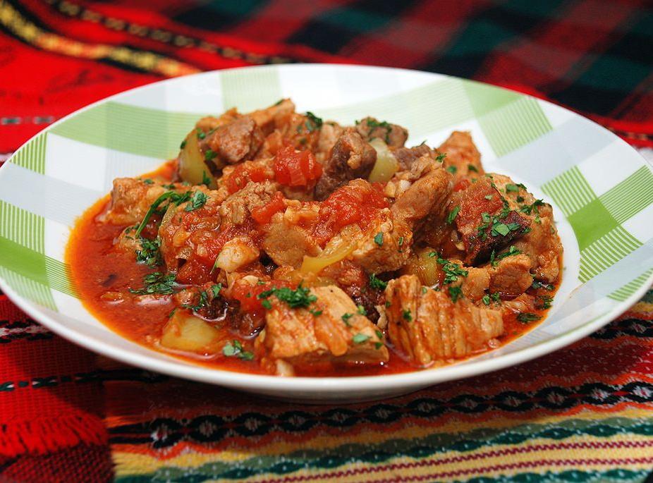 """Вкуснейшее блюдо венгерской кухни """"Перкельт"""""""
