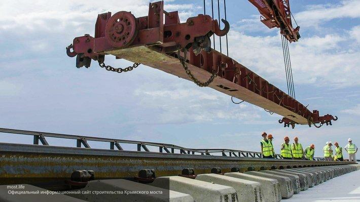 Особенности Крымского моста: железная дорога может выдержить 9-балльное землетрясение
