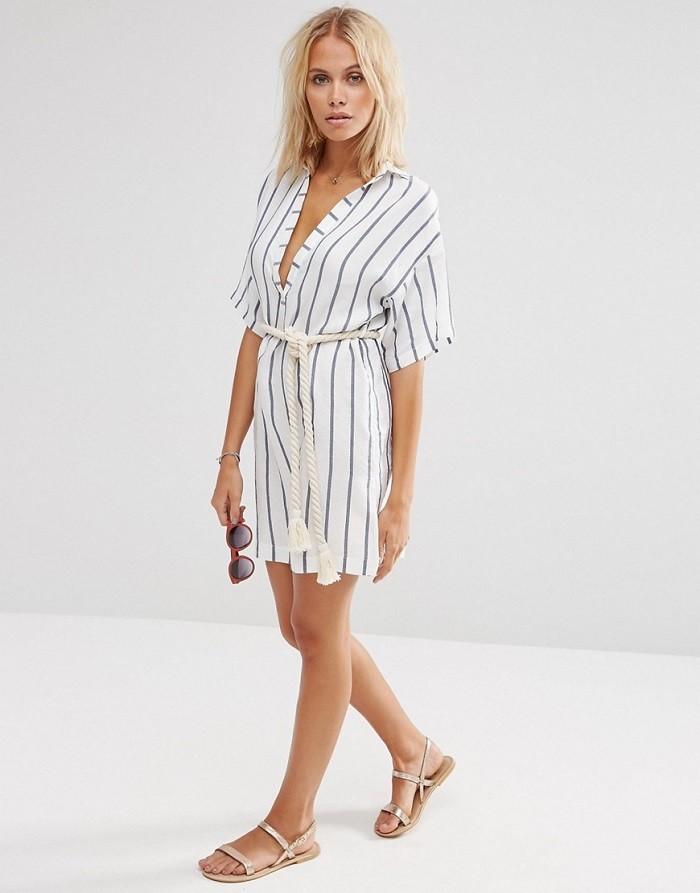Cтильные платья-рубашки - с чем их носить