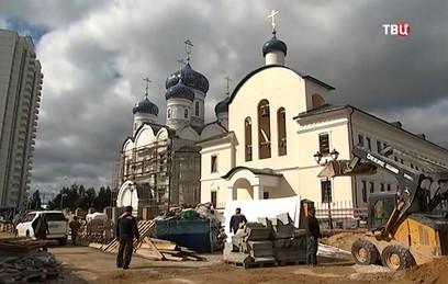 В Москве завершается строительство храма в честь Федора Ушакова