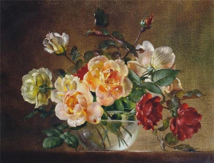 Картины известных художников цветы в самом высоком разрешении фото