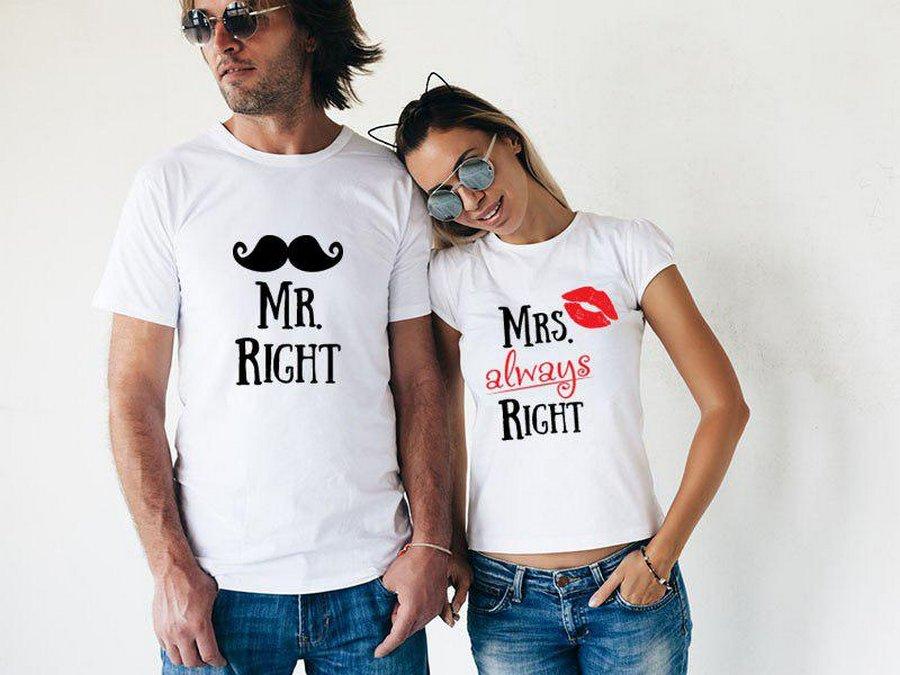 Парные футболки – подарочный…