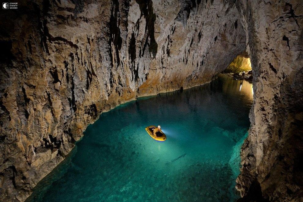 Пещера Гуфр Берже