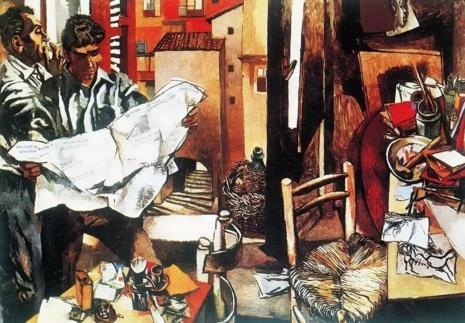 художник Ренато Гуттузо (Renato Guttuso) картины – 22