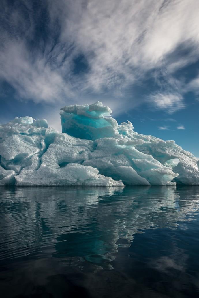 Фантастические пейзажи Гренландии от Майкла Куинна