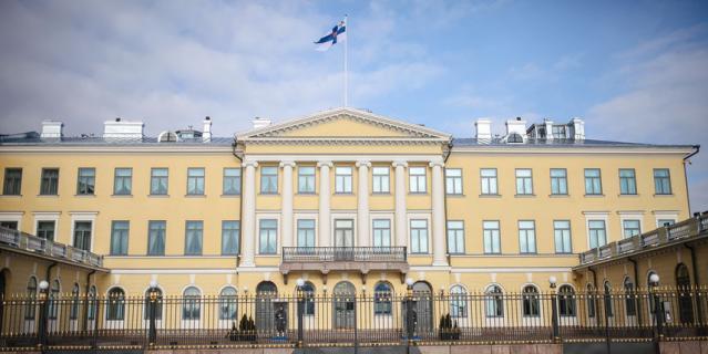 Появились фото залов дворца в Хельсинки, где встретятся Путин и Трамп