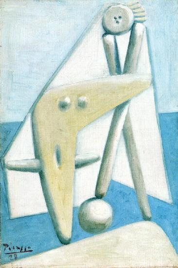 Пабло Пикассо. Купальщицы 1. 1928 год