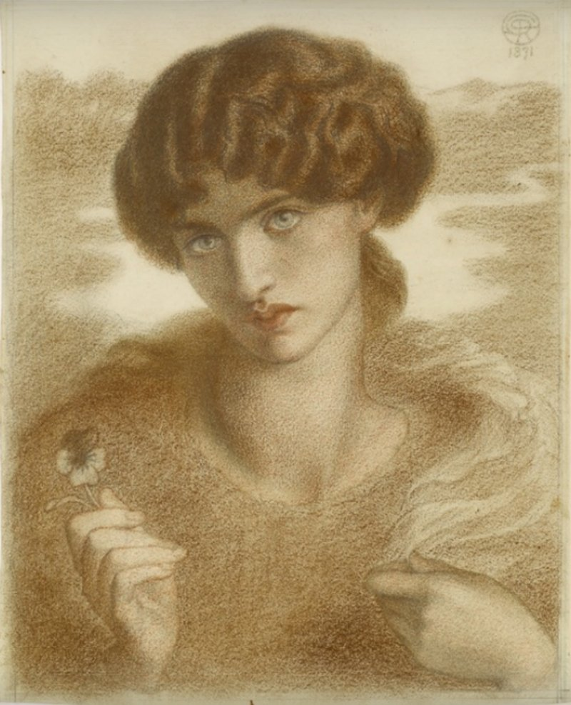 Художник  Данте Габриэль Россетти  (1828-1882)