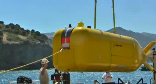 беспилотная подводная лодка