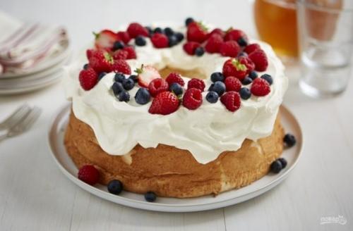 Ангельский пирог