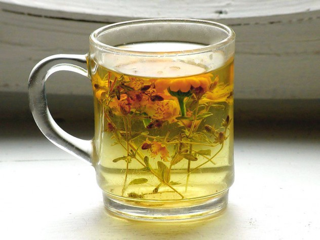 Почечные чаи